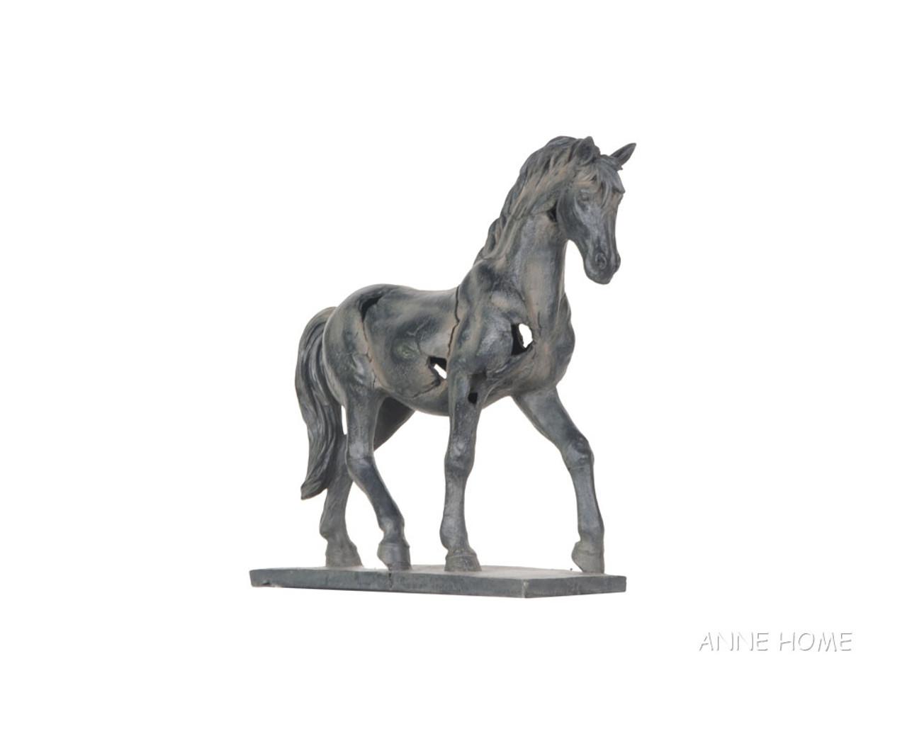 Rustic Horse Art Figurine Large Statue 16 Country Western Home Decor Captjimscargo