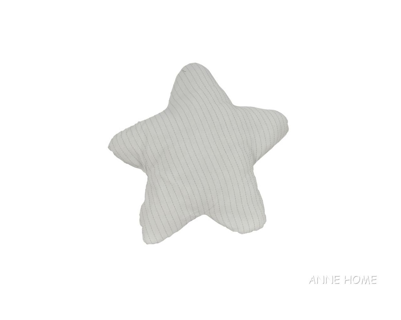 "White Starfish Shaped Throw Pillows 12"" Set of 2 Beach House Decor"