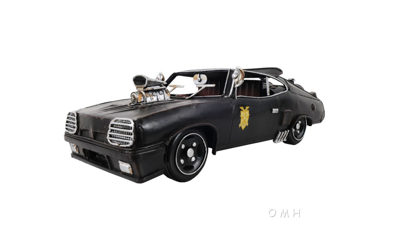 Mad Max Pursuit Special Ford Falcon Xb Gt Coupe 1973 Metal Model Captjimscargo