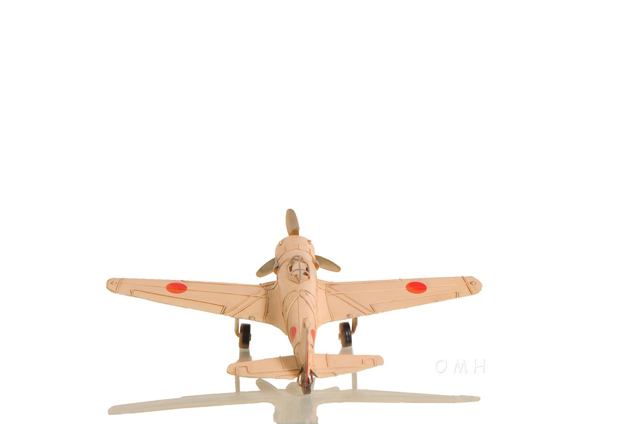 1939 Nakajima Ki-43 Oscar Fighter Metal Aircraft Model