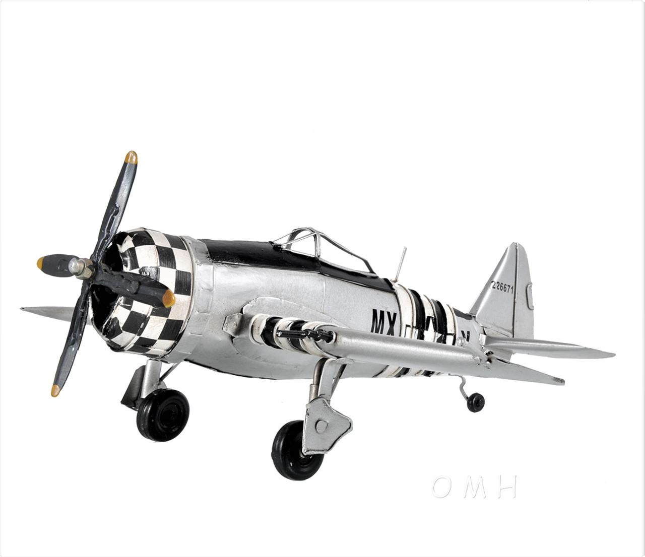 P-47 Jug Thunderbolt Fighter Bomber Model WWII Airplane