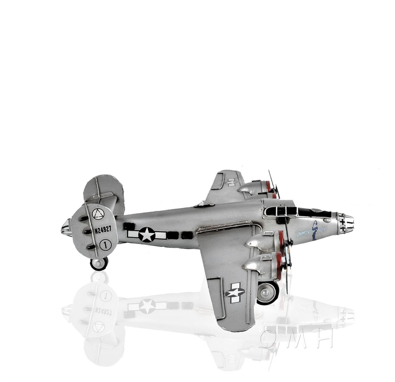 Consolidated B-24 Liberator 1941 Bomber Metal Model