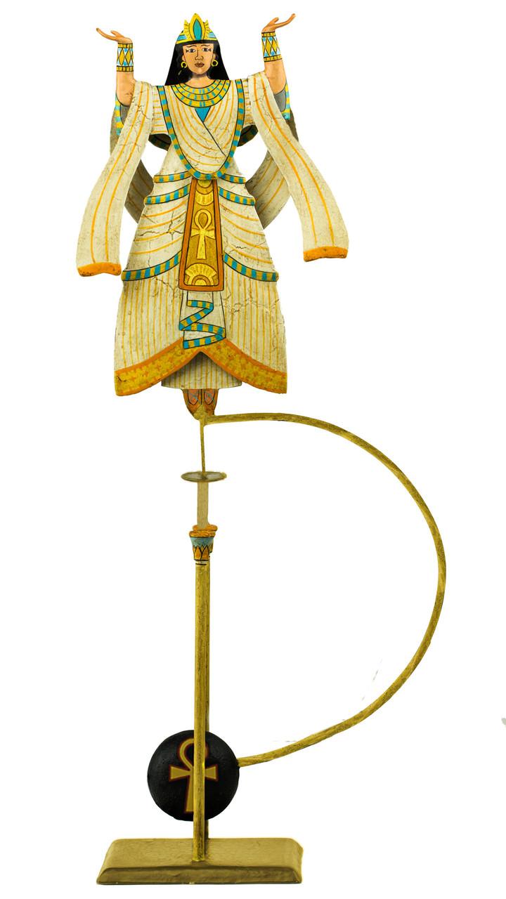 Aida Egyptian Opera Queen Ornament Sky Hook Figurine