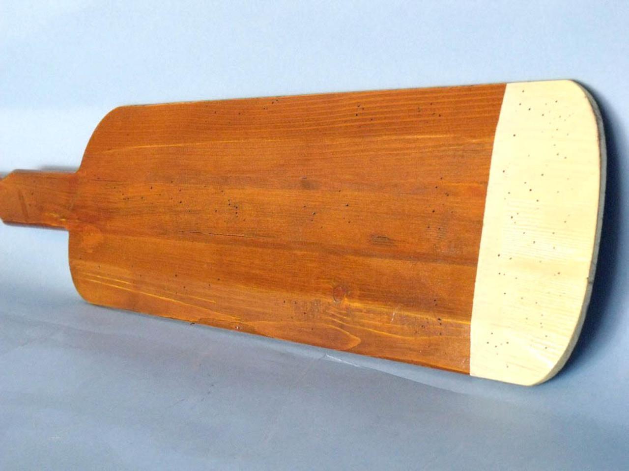 Tender Row Boat Oar Ivory Paddle Hooks Beach Decor