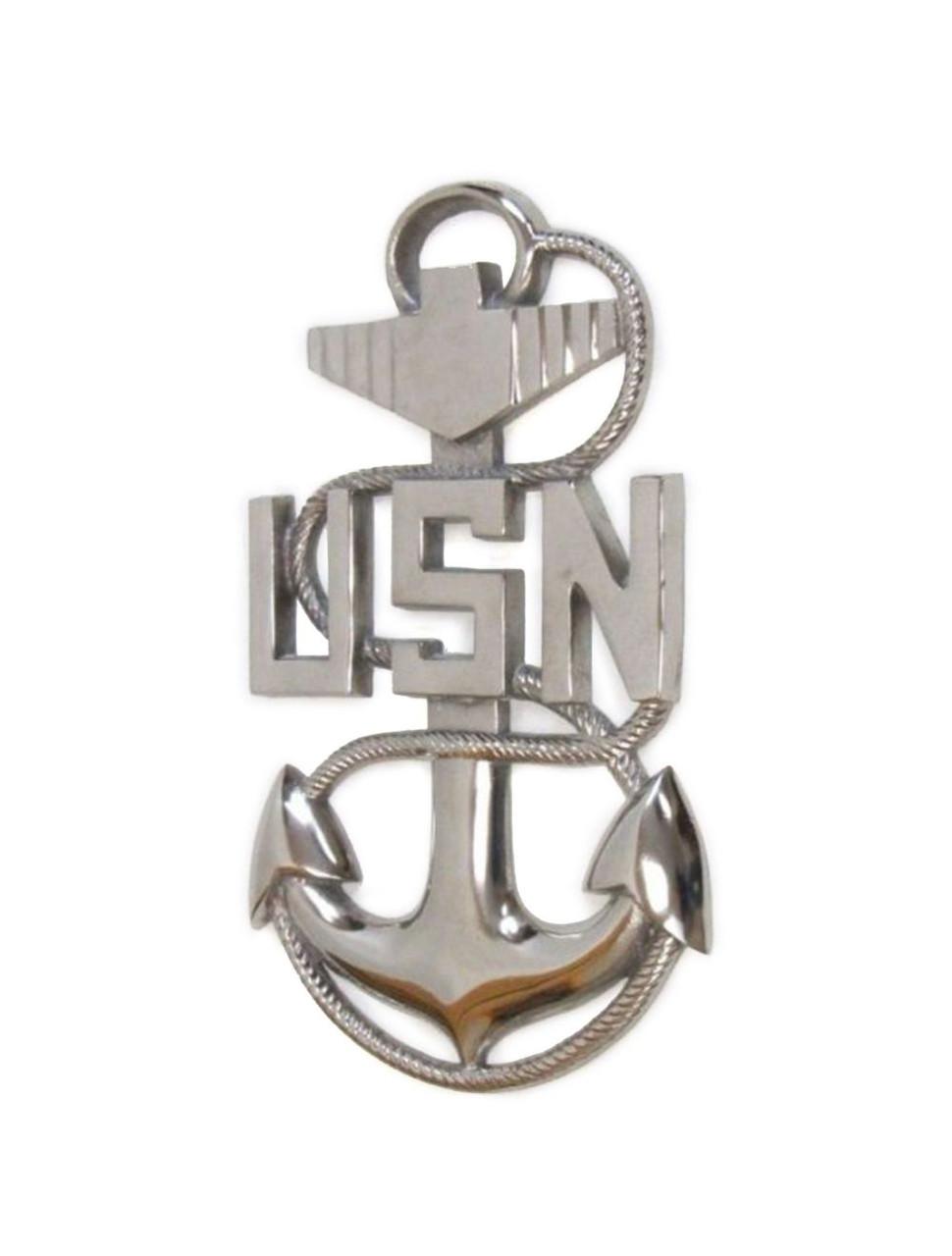 USN Navy Military E7 Fouled Anchor Emblem