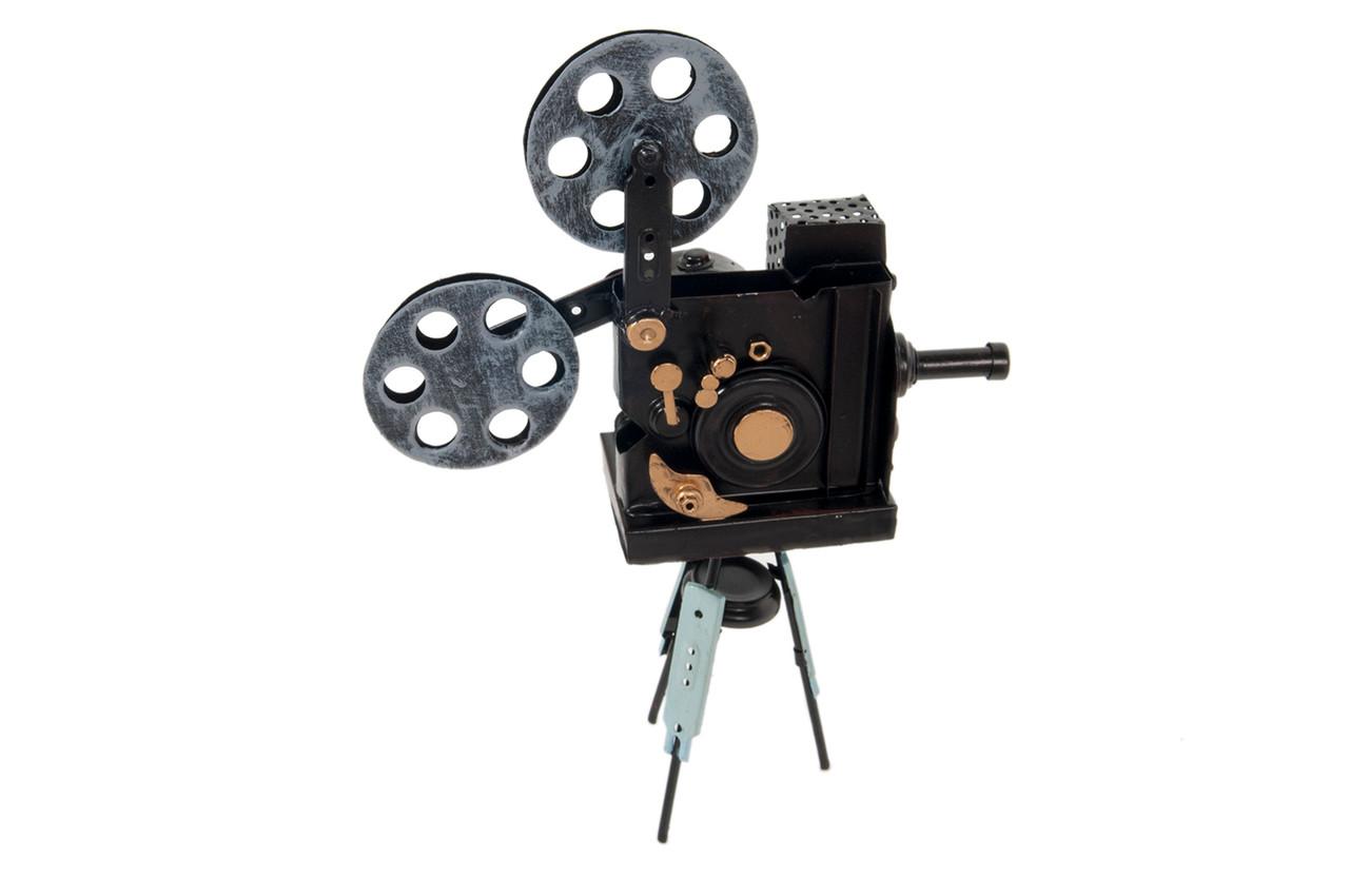 Movie Theater Film Projector Vintage Style Figurine