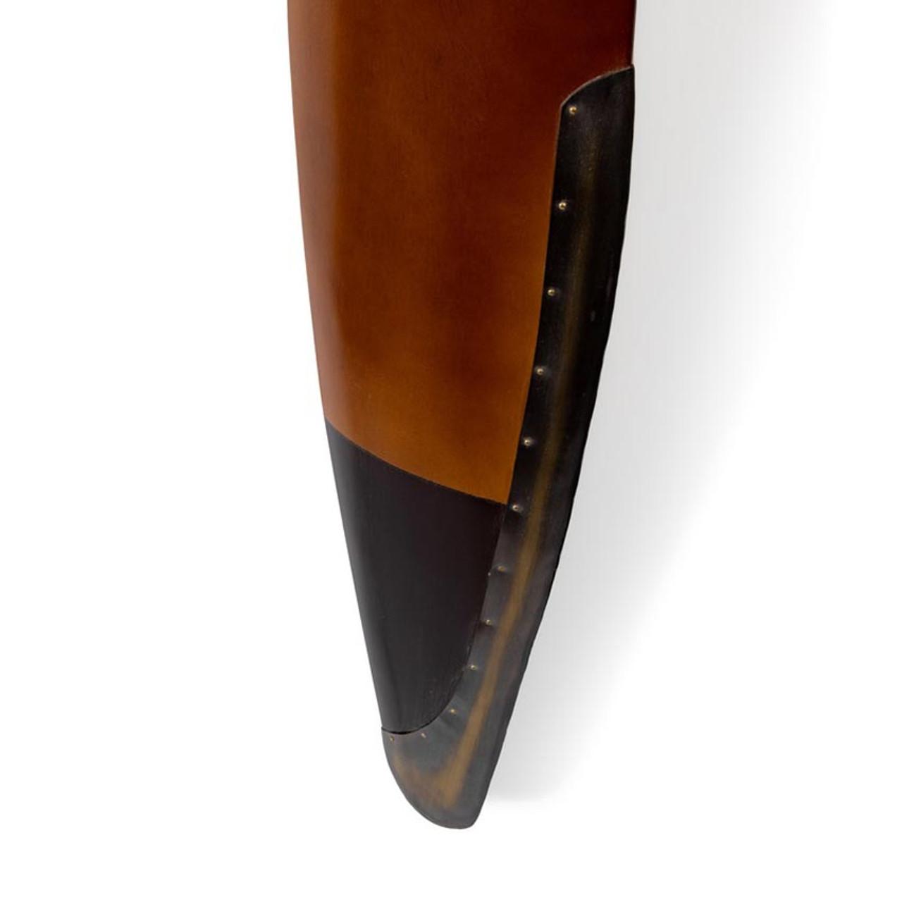 WWI Wood Aircraft Propeller Decorative Antiqued Decor