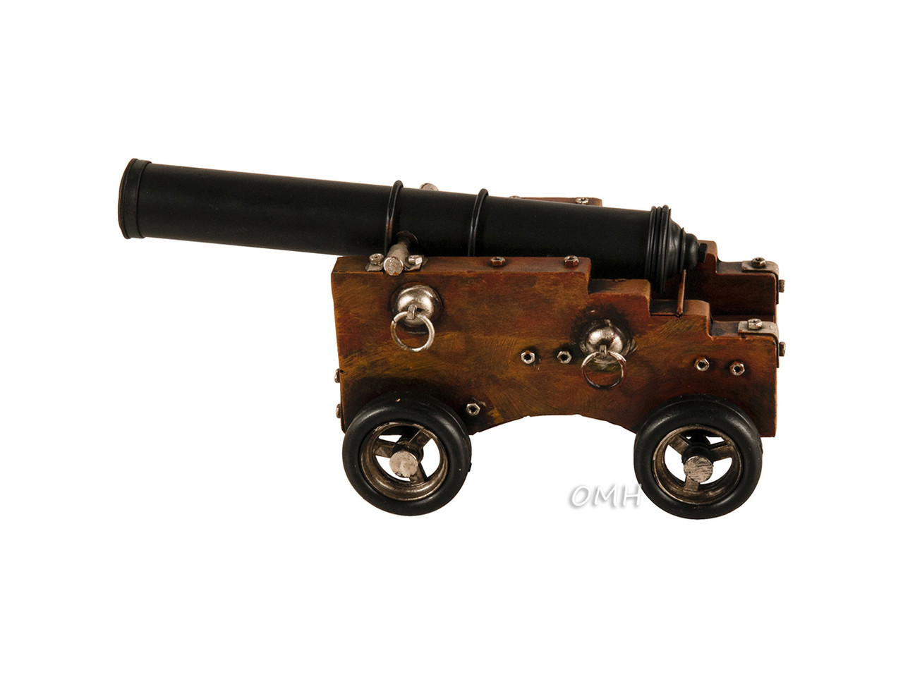 Naval Cannon Metal Model 18th Century Navy 1800 Nautical