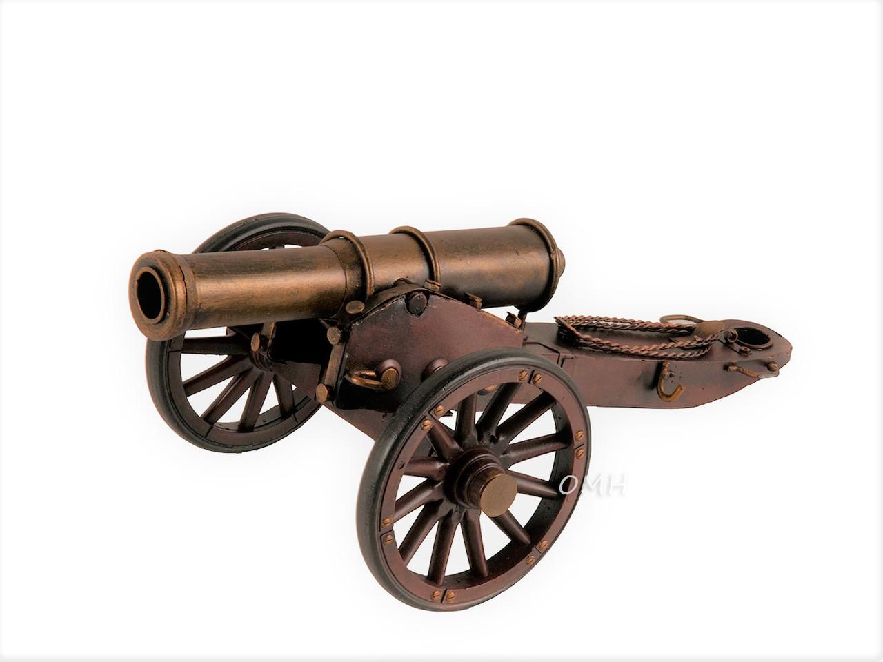 Civil War Artillery Cannon Metal Model American Civil War Military