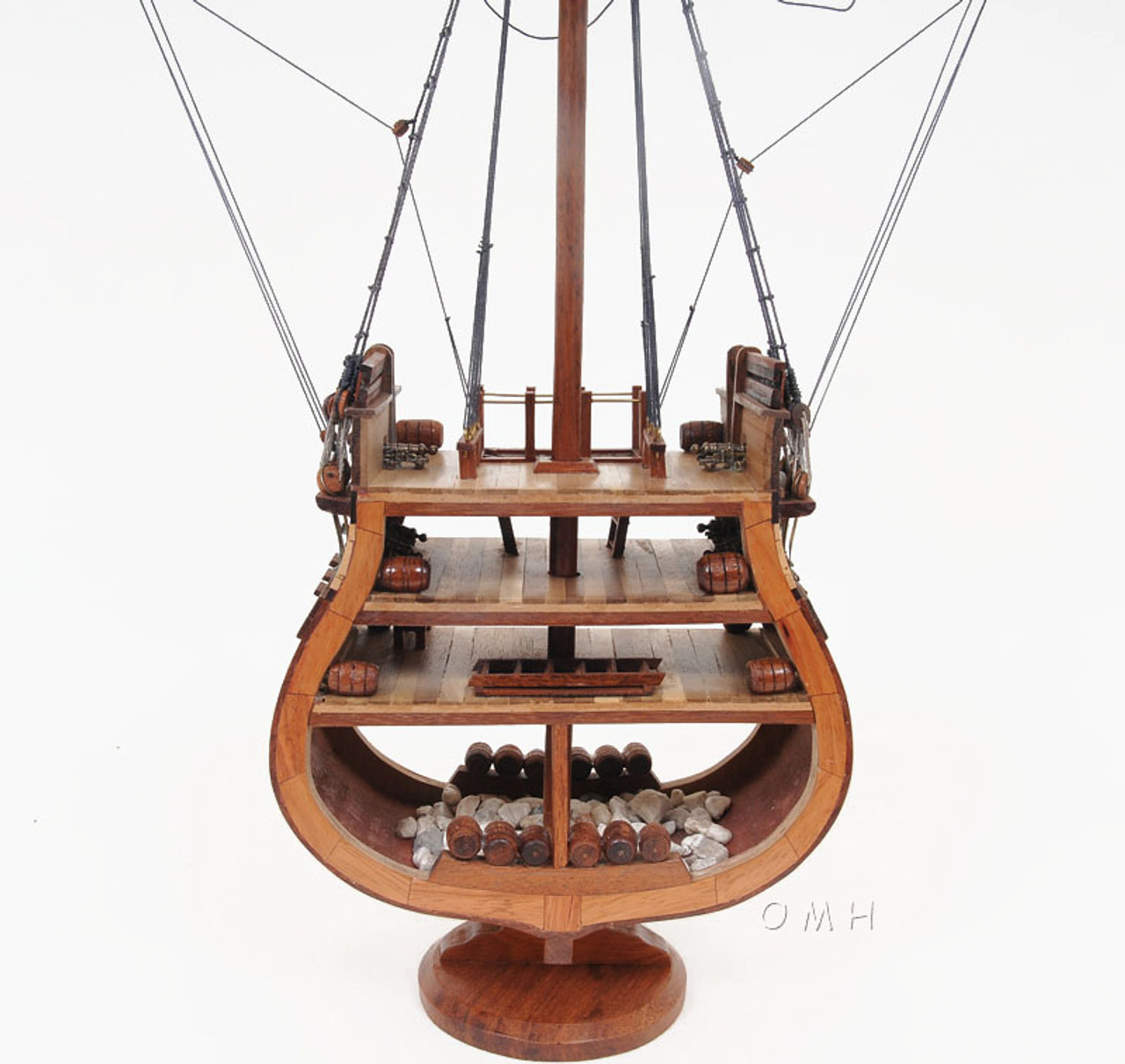 USS Constitution Cross Section Tall Ship Model