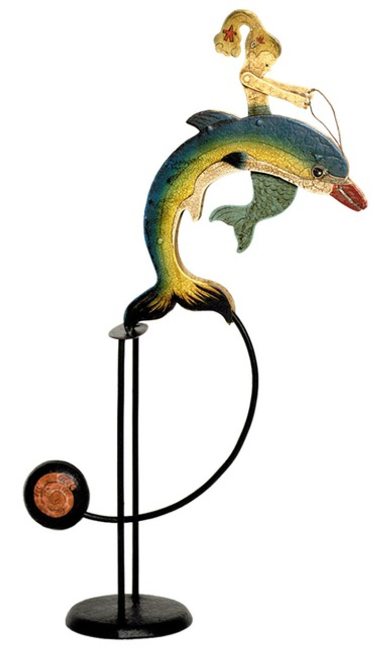 Mermaid Sky Hook Dolphin Tetter Totter Toy