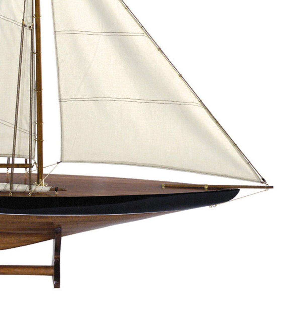 Blue Green 1901 Sail Pond Yacht 43
