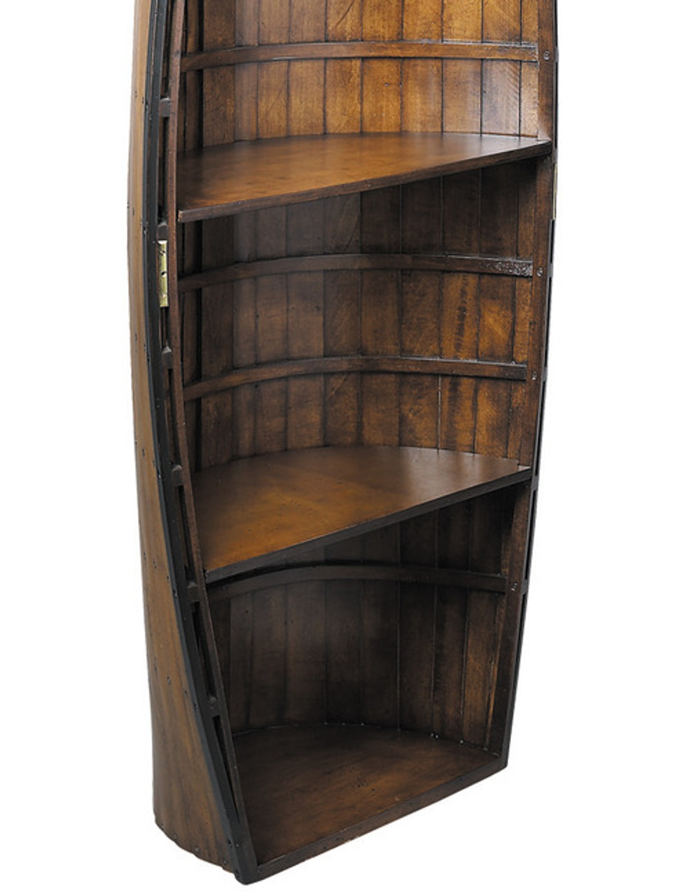Bosun S Gig Wooden Rowing Boat Bookcase Shelf Authentic Models
