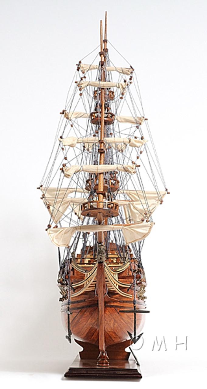 De Zeven Provincien Wood Display Model Ship