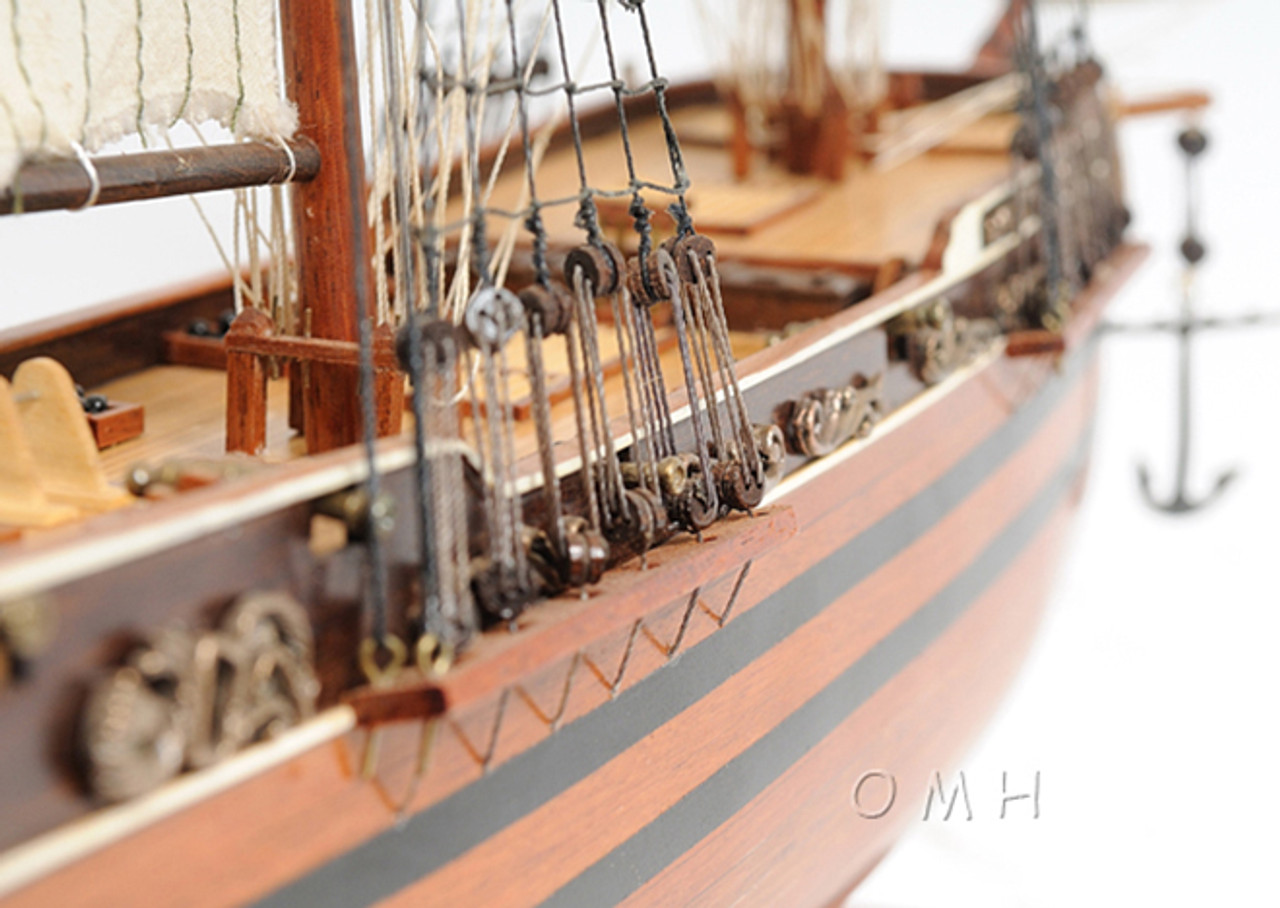 El Cazador Treasure Ship Wooden Model Boat