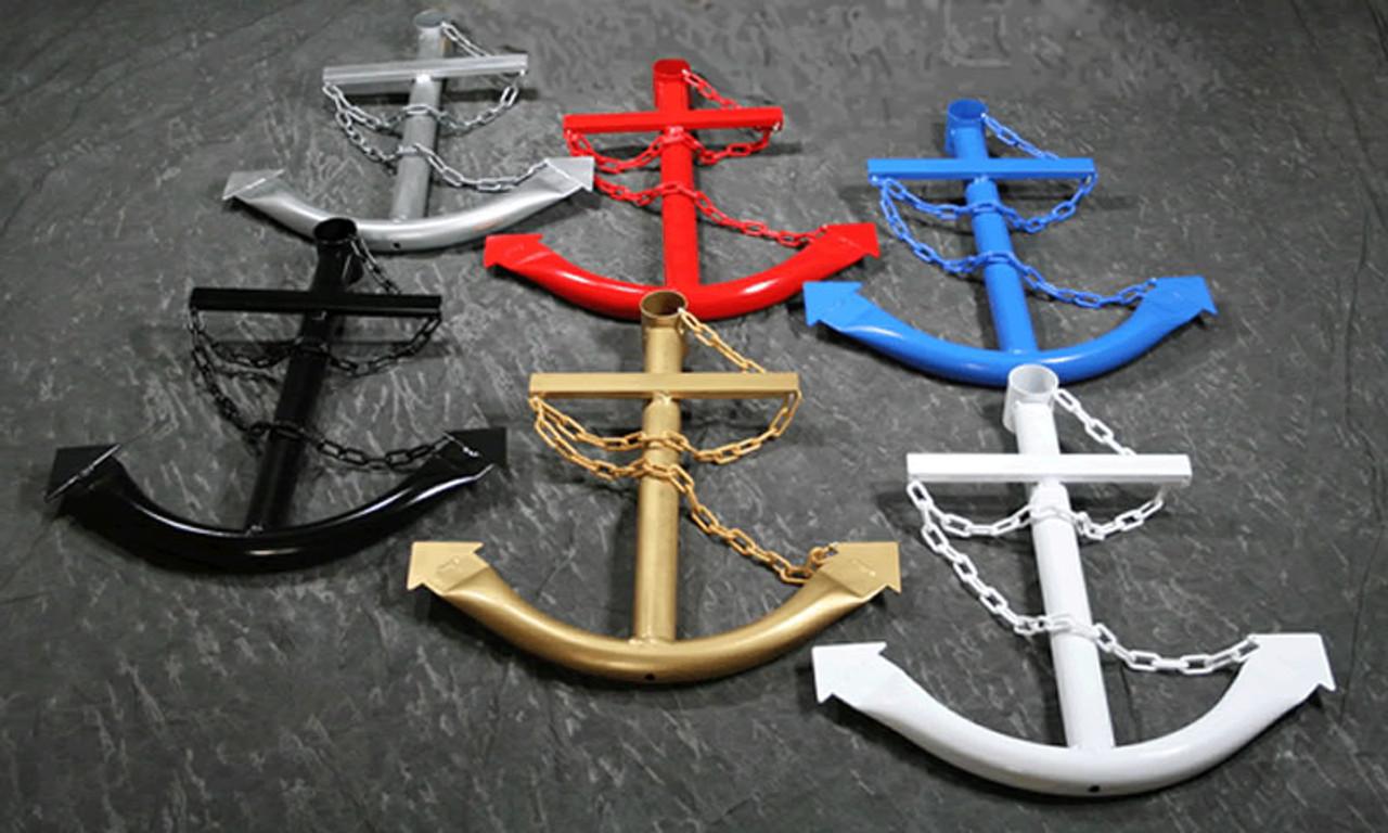 Navy Ships Anchor Metal Wall Art Yard Decor