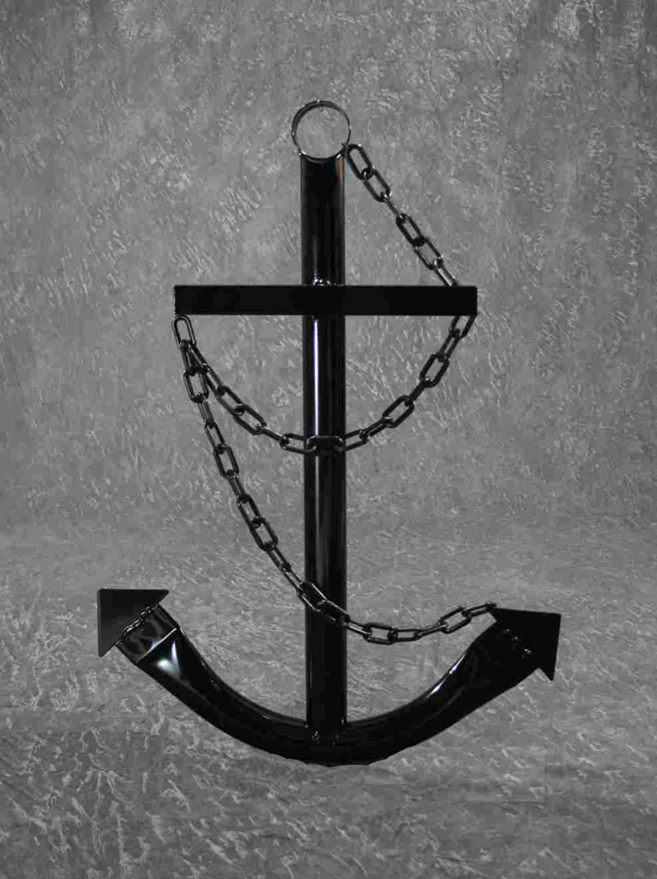 Black Ships Anchor Metal Nautical Home Decor