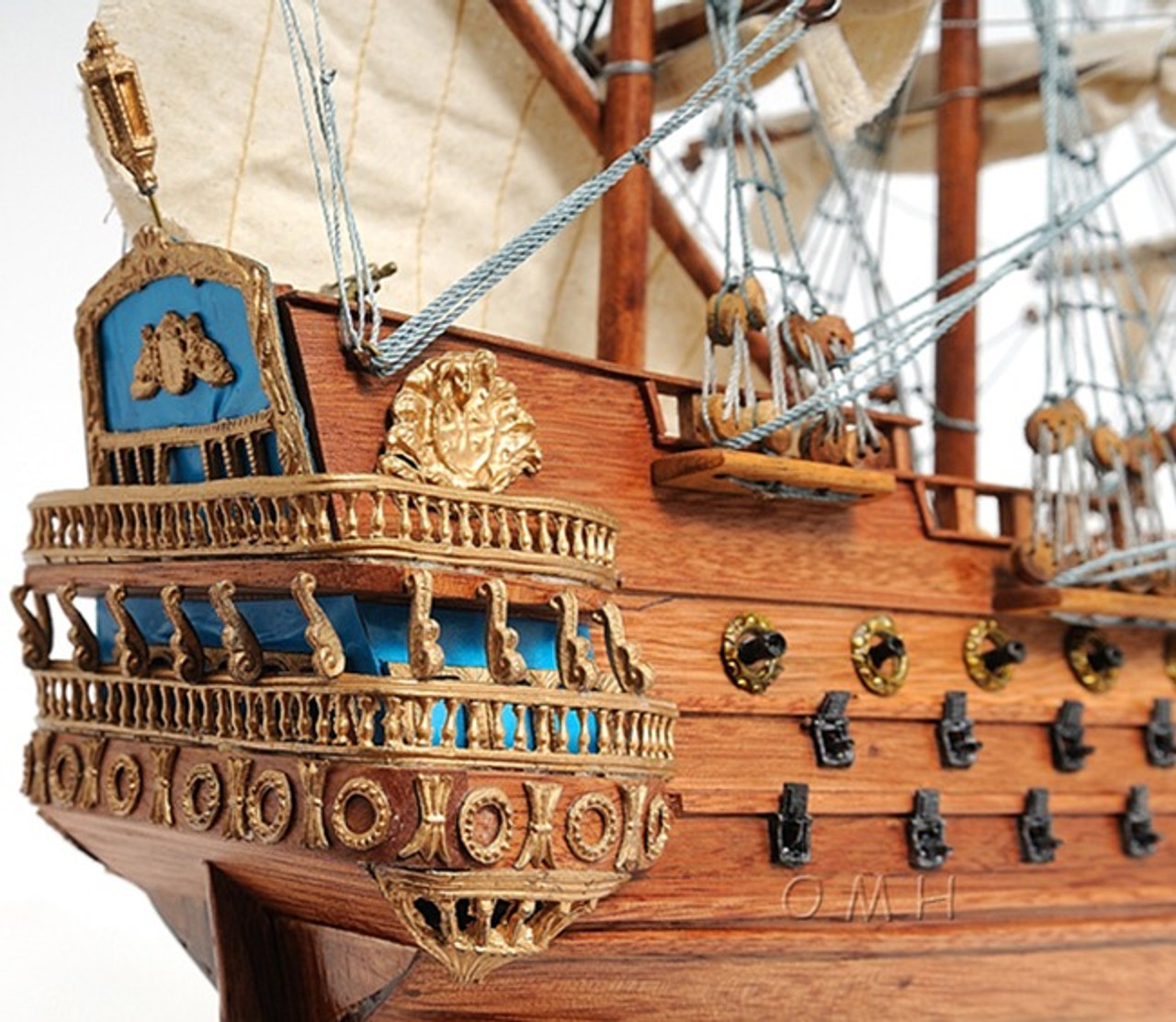 San Felipe Galleon Tall Ship Model Sailboat