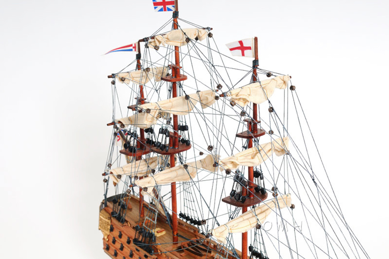 HMS Victory Model Tall Ship Lord Nelsons Flagship