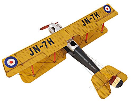 Curtis JN-7H Jenny Barnstormer Airplane Metal Model