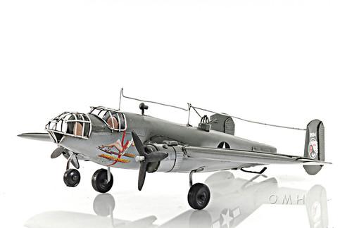 B-25 Mitchell Bomber Metal Desk Model