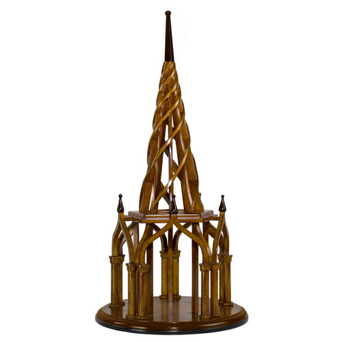 Nirvana Spire Architectural Wooden Model Spiral Belltower