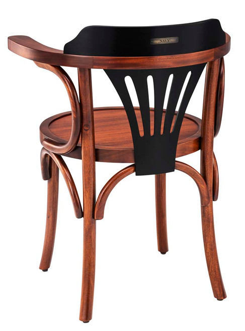 Navy Chair Honey Black Nautical Office Desk Furniture