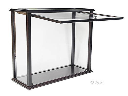 Table Top Display Case Opening Front Medium