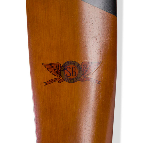 Small Sopwith Camel WWI Wooden Airplane Propeller