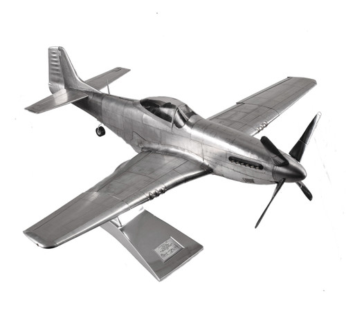 North American P-51 Mustang Aluminum Airplane Model