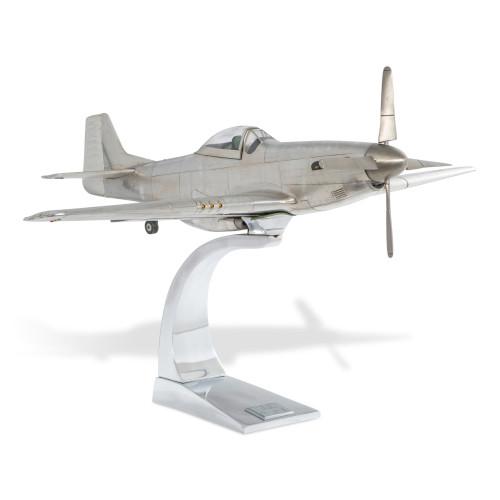 North American P-51 Mustang Aluminum Airplane Model