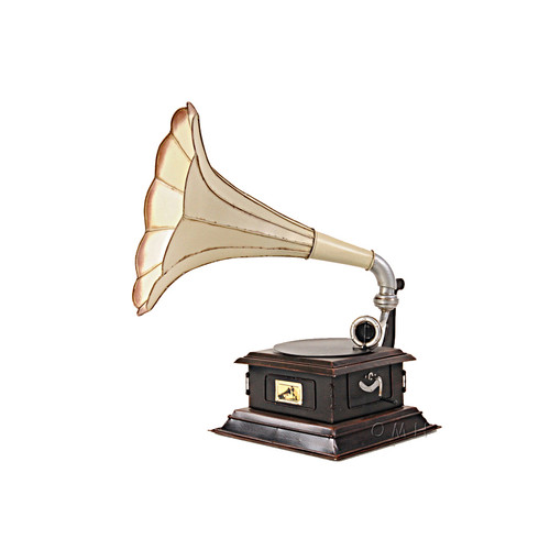 Gramophone Monarch Company Metal Model Decorative Phonograph