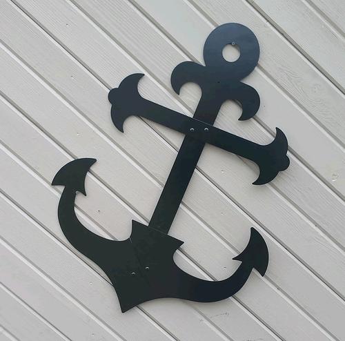 Ships Metal Anchor Outdoor Wall Hanging Decor