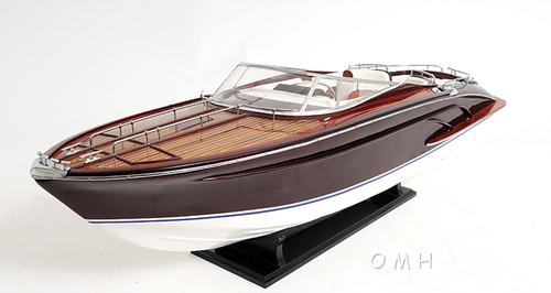 Riva 44 Rivarama Speed Boat Wooden Scale Model