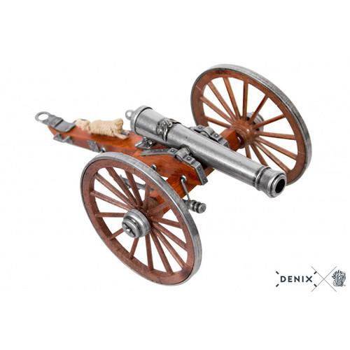 Civil War Cannon 12 Pounder Metal Built Model