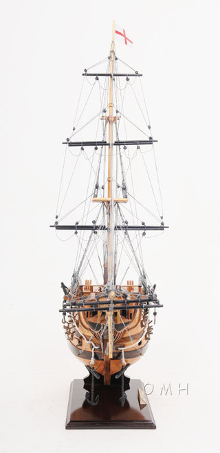 HMS Victory Bow Section Wooden Ship Model