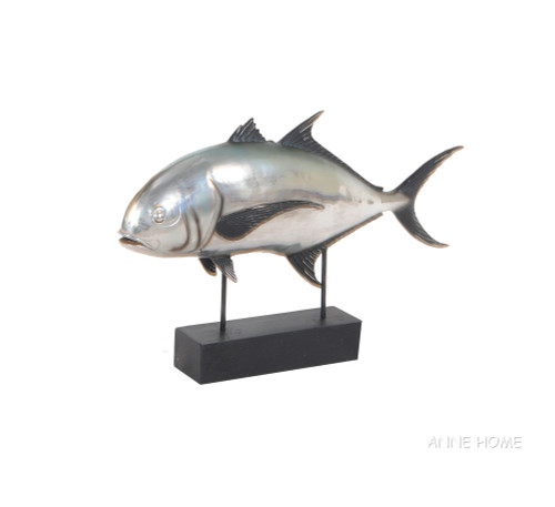 Crevalle Jack Fish Mount Figurine Statue Fishing