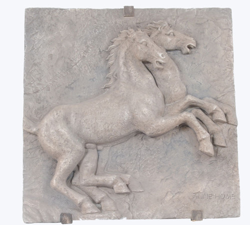 Large Horse Wall Art Sculpture Plaque Country Western