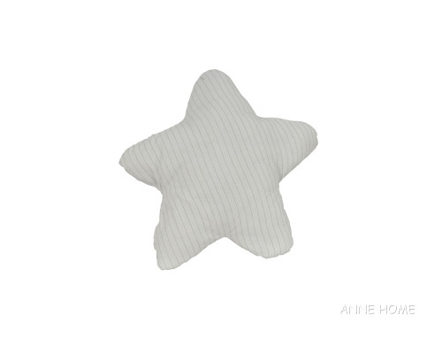 "White Starfish Shaped Throw Pillow 12"" Beach House Couch Decor"
