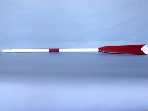 Harvard Crew Rowing Oar Red White Wood Hooks