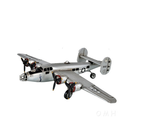 Consolidated B-24 Liberator 1941 Bomber Metal Model