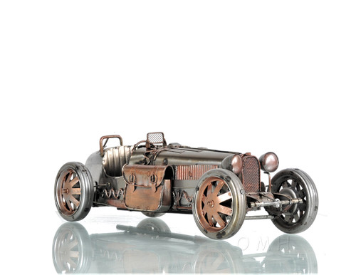 1926 Bugatti Type 35 Metal Racing Car Model