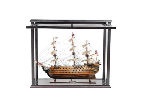 Victory Ship Model Opening Front Display Case