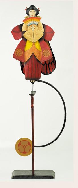 Madame Butterfly Opera Ornament Sky Hook Figurine