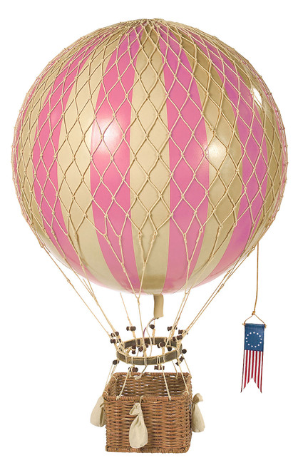 Hot Air Balloon Model Pink Hanging Ceiling Home Decor