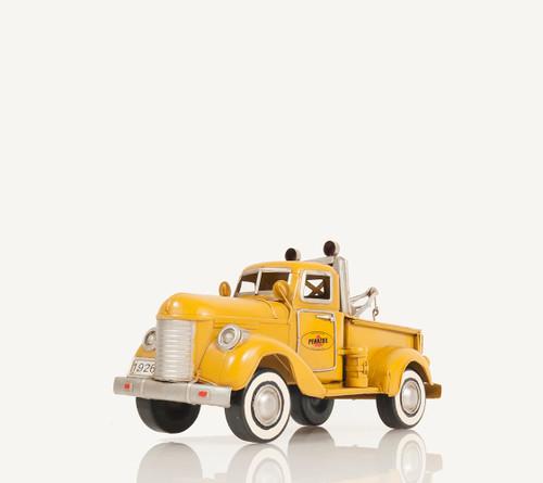 1926 Pennzoil Tow Truck Metal Desk Model Automotive Decor