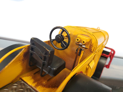 Steam Road Roller Metal Model Construction Equipment Vehicle