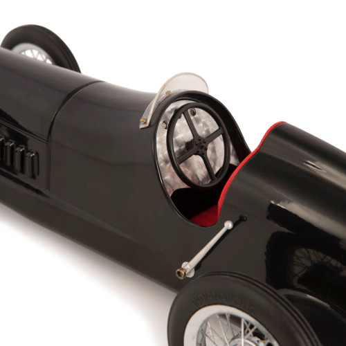Black 1934 Mercedes Benz Silberpfeil Model Racing Car