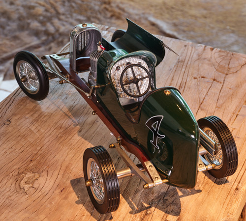 Green Bantam Midget 1930s Tether Car Model
