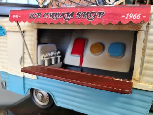 1966 Mobile Ice Cream Concession Trailer Model Food Truck